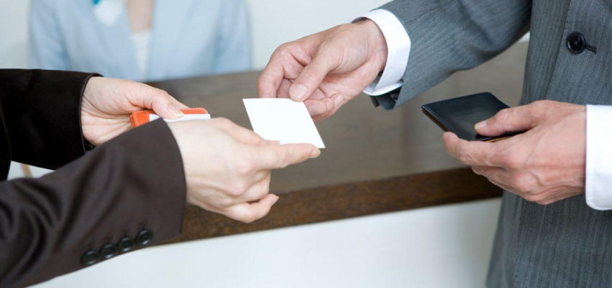 اهمیت کارت ویزیت