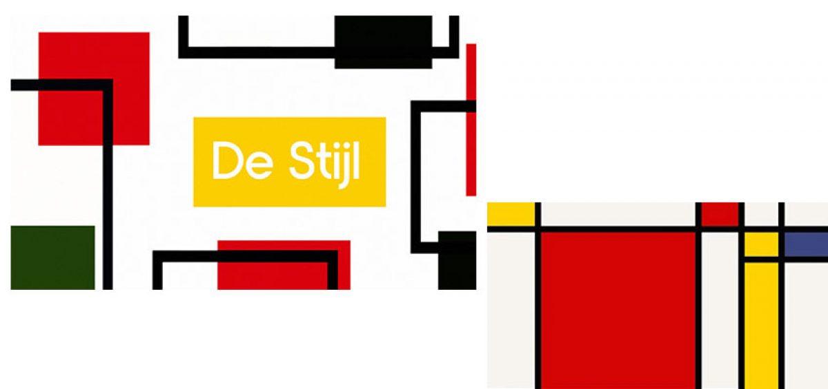 جنبش هنری دِ استیل در طراحی گرافیک