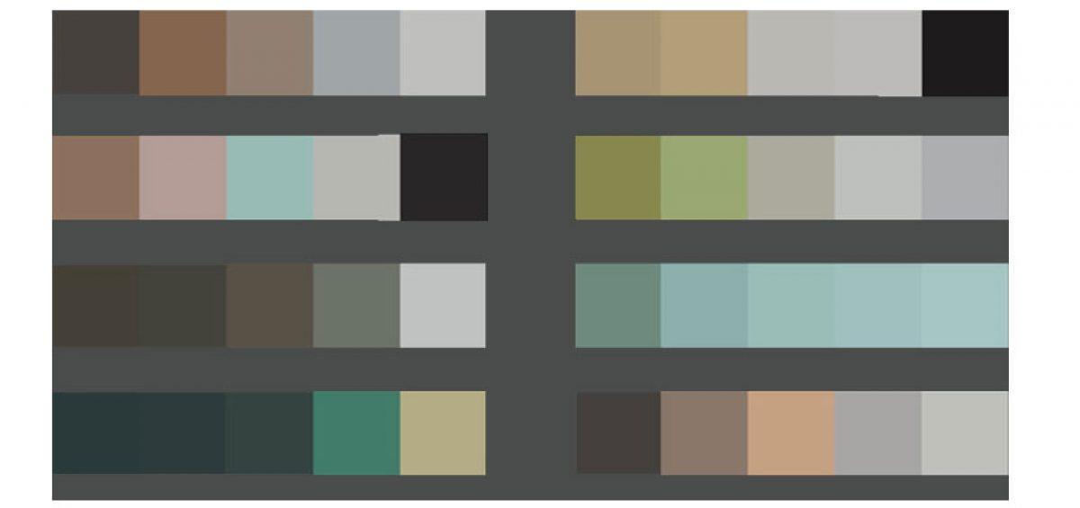 رنگ و اثر رنگی و ایجاد عمق در طراحی