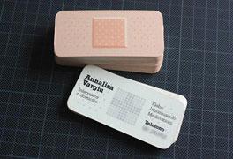کارت ویزیت خلاقانه با موضوع مراکز درمانی و پزشکی