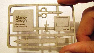 کارت ویزیت خلاقانه برای طراحی داخلی