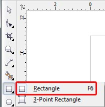 ابزار Rectangle